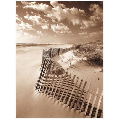 Beach Fence Wall Art
