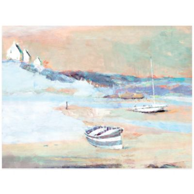 Beached Boats Wall Art