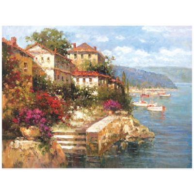 Mediterranean Point Wall Art