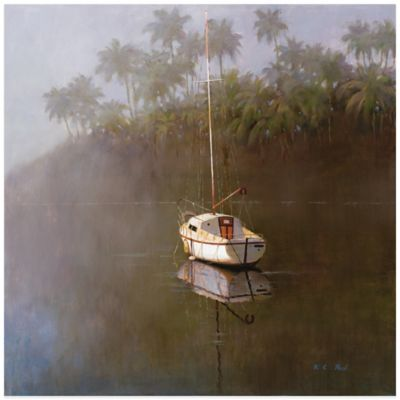 Sailboat at Anchor Wall Art