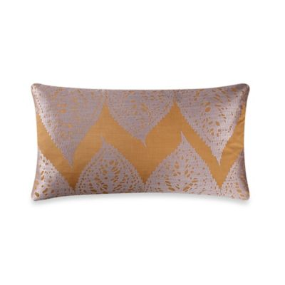 The Tallulah Collection by Kevin O'Brien Falling Leaves Embroidered Leaves Breakfast Throw Pillow