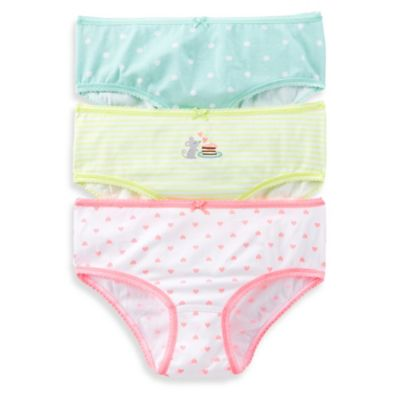 Carter's® Size 2-3T 3-Pack Mouse Panties in Assorted Designs