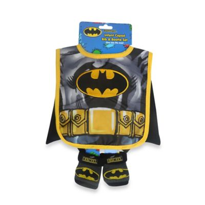 Rising Star Batman Bib and Bootie Set