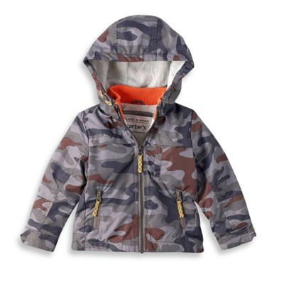 Carter's® Size 2T Midweight Fleece-Lined Jacket in Camouflage