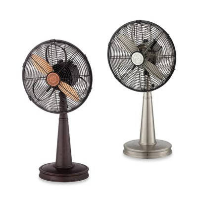 Savoy House 13-Inch 3-Speed Tabletop Sleep Fan in Nickel