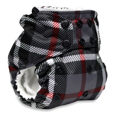 Kanga Care Rumparooz One-Size Cloth Pocket Diaper in Dexter Plaid