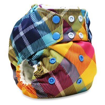 Kanga Care Rumparooz One-Size Cloth Pocket Diaper in Preppy Plaid