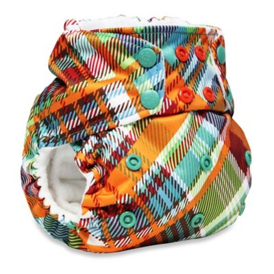 Kanga Care Rumparooz One-Size Cloth Pocket Diaper in Quinn Plaid