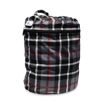 Kanga Care Cloth Diaper Wet Bag in Dexter Plaid
