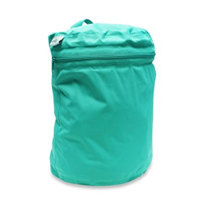 Kanga Care Cloth Diaper Wet Bag in Peacock