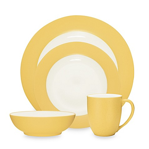 Noritake® Colorwave Rim Dinnerware Collection in Mustard