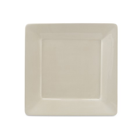 Tabletops Unlimited® Misto Square 10-1/2-Inch Dinner Plate in Linen