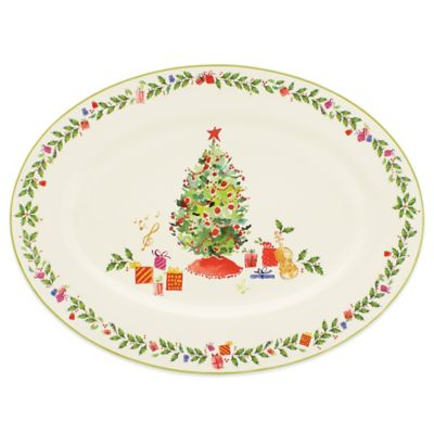 Lenox® Holiday Illustrations 16-Inch Platter