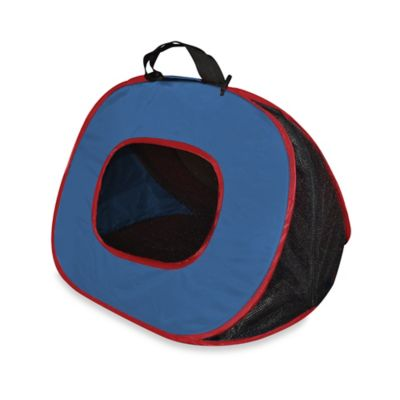 Small Pop-Up Travel Pet Carrier in Navy