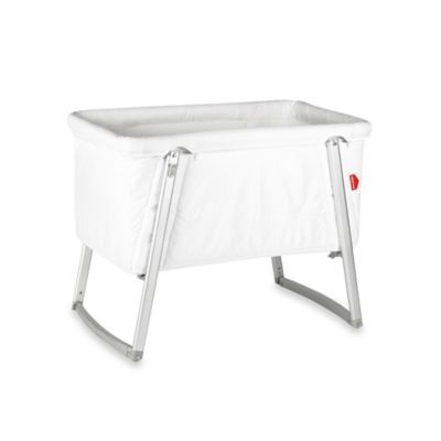 babyhome® Dream Bassinet in White