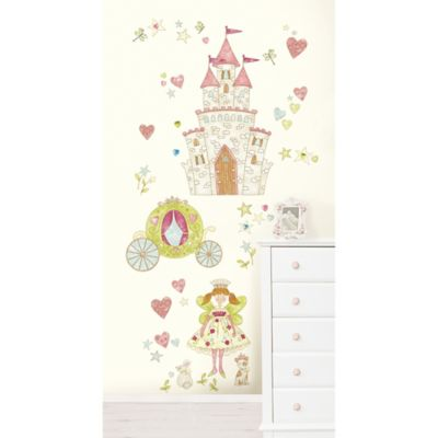 WallPops!® Princess Fairlyland Wall Decal Kit