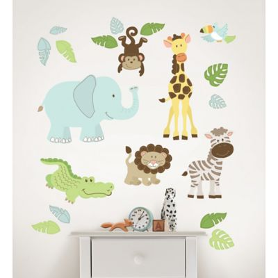 WallPops!® Safari Buddies Wall Decal Kit