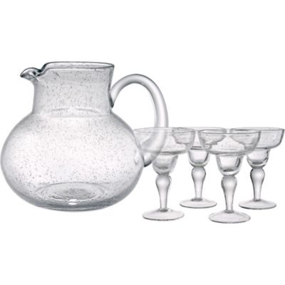 Artland® Iris 5-Piece Margarita Glass and Pitcher Set in Clear