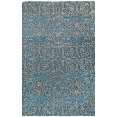 Trella 25.75-Inch x 43.3-Inch Accent Rug in Turquoise
