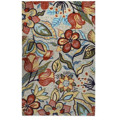 Trella 25.6-Inch x 43.3-Inch Kitchen Rug in Multi