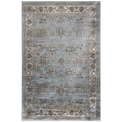 Radiance Traditional 6-Foot 6-Inch x 9-Foot 10-Inch Area Rug in Blue