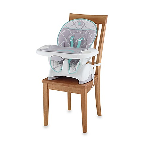 Fisher-Price® Deluxe SpaceSaver High Chair in Safari Dreams - www.BedBathandBeyond.com