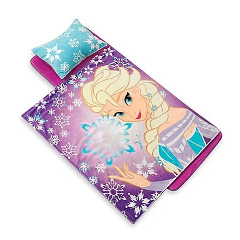 Disney 174 Frozen Elsa Snowflake Memory Foam Nap Mat With