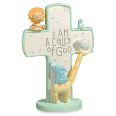"Grasslands Road® Noah's Ark ""I Am A Child of God"" Standing Cross"
