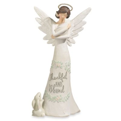 "Grasslands Road® ""Thankful And Blessed"" Guardian Angel Figurine"