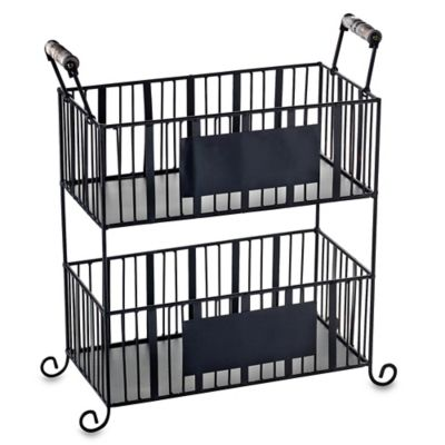 Mesa Delaware Collection 2-Tier Rectangular Strong Basket