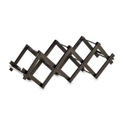 Black Wire Wine Racks