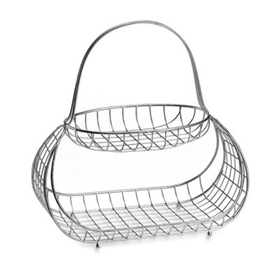 Mesa Baboosh Collection 2-Tier Basket