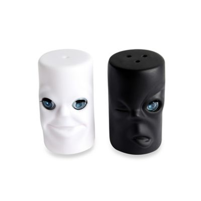 Kikkerland Salt and Pepper