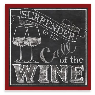 Thirstystone Surrender to the Call of the Wine Coasters (Set of 4)