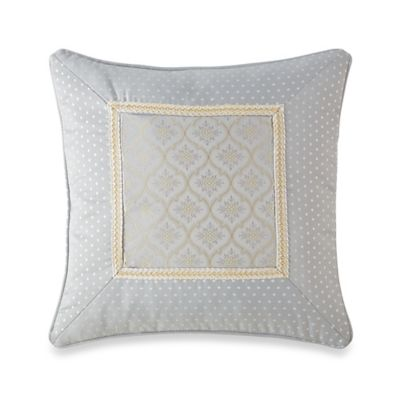 Waterford® Linens Eveleen Frame Square Throw Pillow