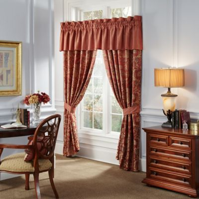 Waterford® Linens Hamilton 84-Inch Window Panel Pair