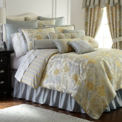 Waterford® Linens Eveleen Reversible Queen Duvet Cover
