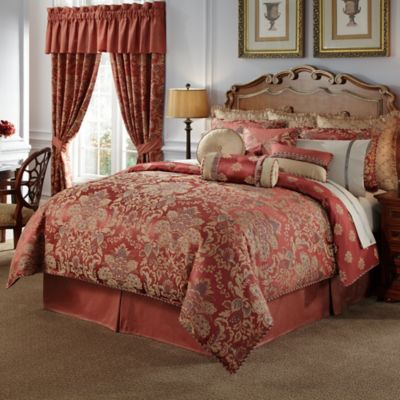 Waterford® Linens Hamilton Reversible Queen Duvet Cover