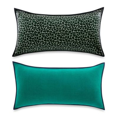 Vince Camuto® Devon Signature Reversible Bolster Throw Pillow