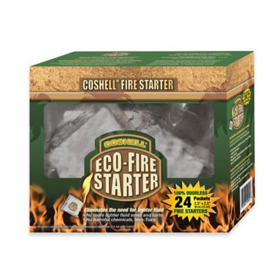 Coshell Charcoal Eco-Fire Starter (24-Pack)