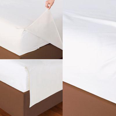 White Fitted Full Sheet