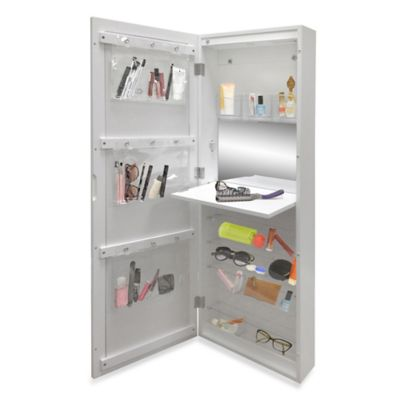 New View Makeup Cabinet with LED Light