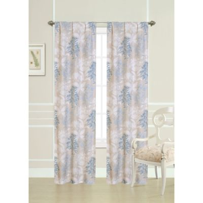 Laura Ashley® 84-Inch Pussy Willow Window Panels