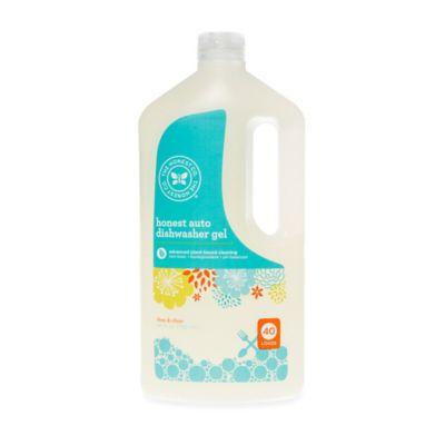 Honest 40 oz. Free & Clear Auto Dishwasher Gel