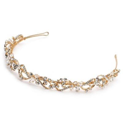 Rosabel Goldtone Vine Bridal Headband