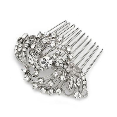 Joleen Silvertone Bridal Comb