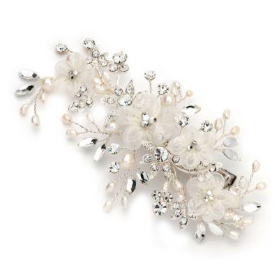 Mila Floral Bridal Comb