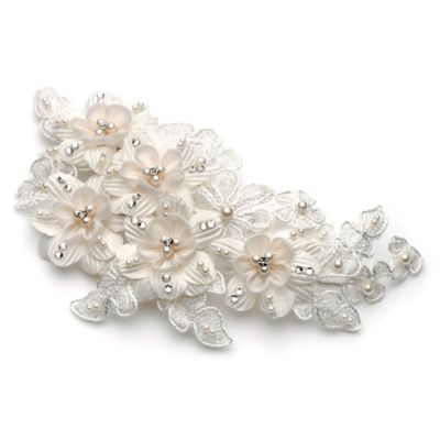 Rosalie Simulated Pearl Bridal Hair Clip