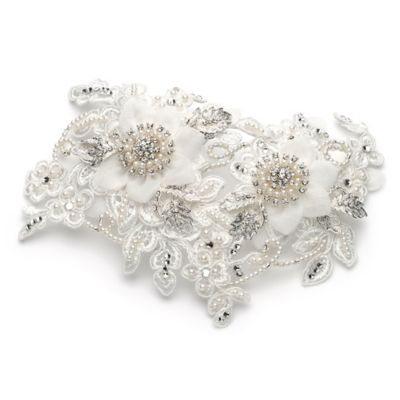 Gatsby Simulated Pearl Bridal Comb