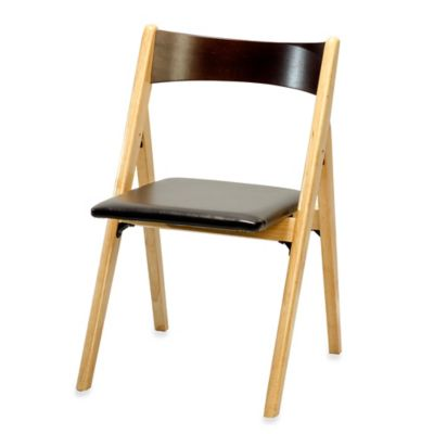 A-Frame Wood Folding Chair in Natural